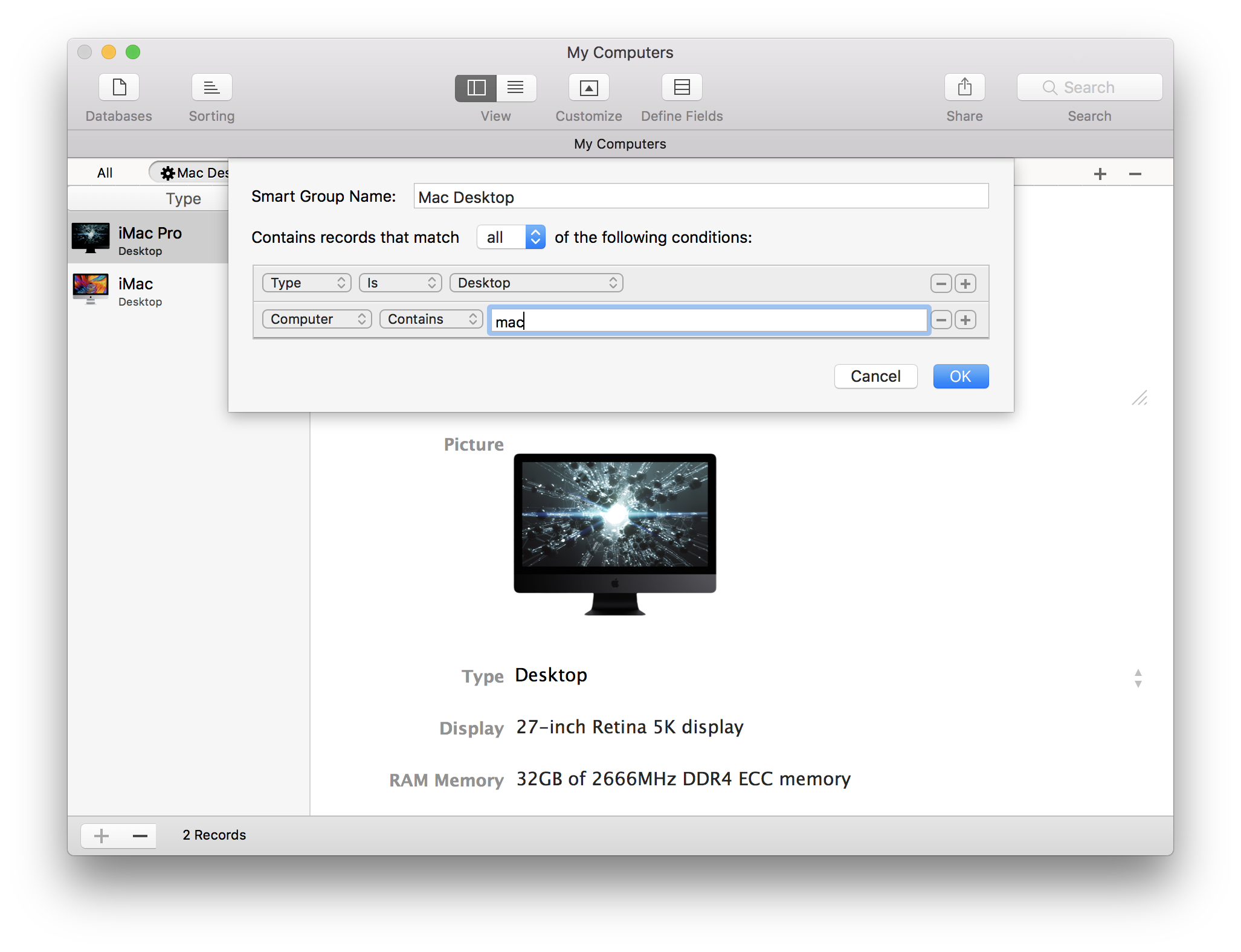 show standalone software for mac