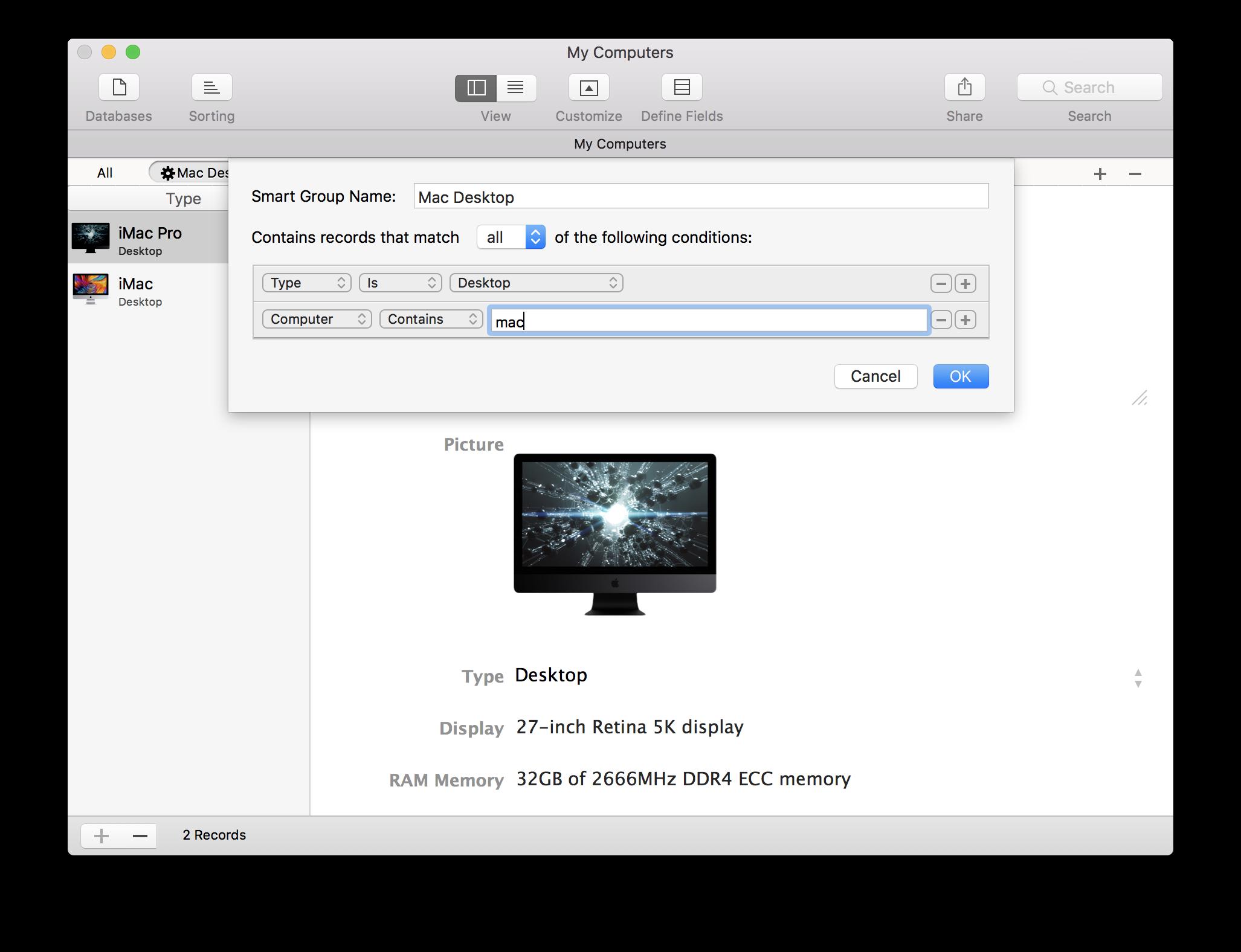 iDatabase for Mac | Apimac