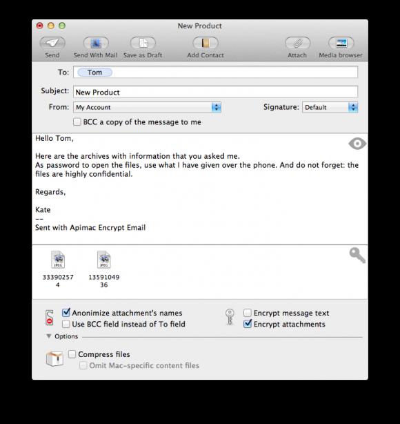 Encrypt Email Screenshot
