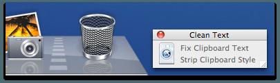 Cleam Text Mac Iconize