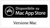 Disponibile su Mac App Store - Versione Mac