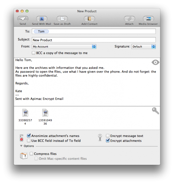 Encrypt Email Screenshot Mac