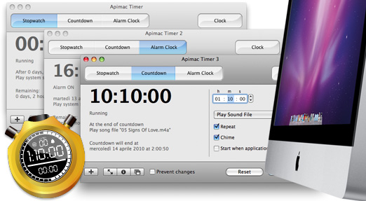 Timer for Mac Freeware app