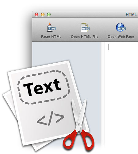 HTML Stripper - Icon